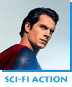 Sci-Fi Action Man Of Steel starring Henry Cavill