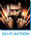 Sci-Fi Action The Wolverine starring Hugh Jackman