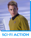 Sci-Fi Action Star Trek - Into Darkness starring Chris Pine